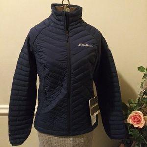 NWT Eddie Bauer Microtherm Stretch Down Jacket
